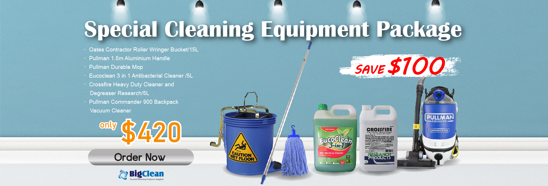 Special Cleaning Equipment Pac...