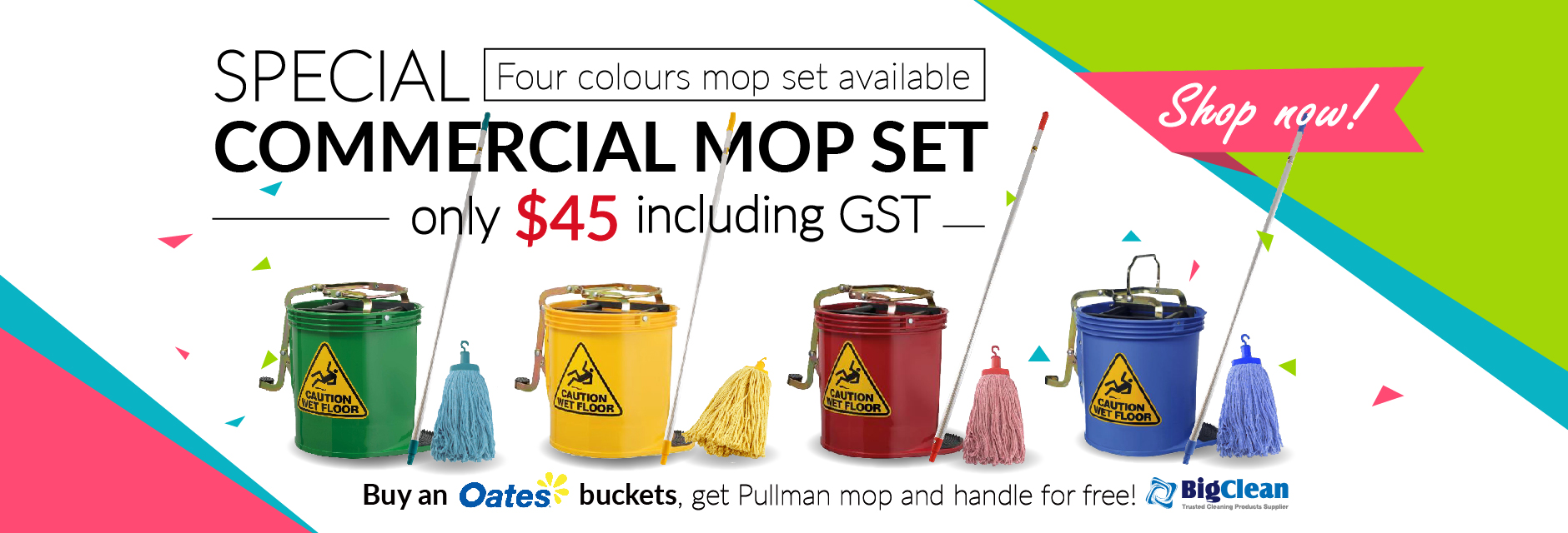 Special Commercial Mop Set
