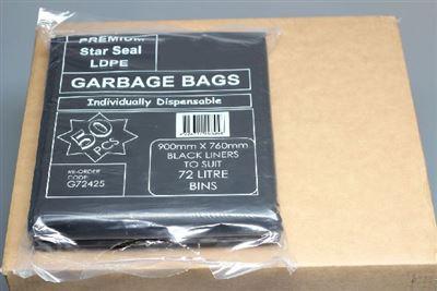 Big Clean Rhino Tuff 72l Premium Ldpe Garbage Bag