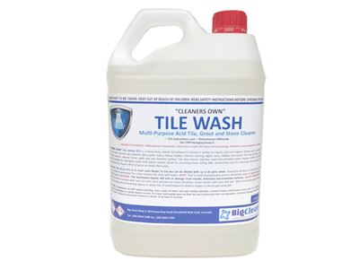 Big Clean Tile Wash Acid Tile Grout And Stone Cleaner